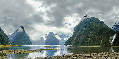 Milford Sound Panorama Art Print