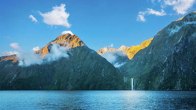 Photograph - Milford Sound Wild Beauty, Nz. by Daniela Constantinescu