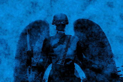 Photograph - Militant Angel by Richard Omura