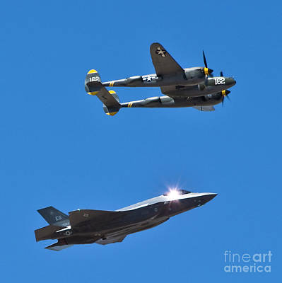 Photograph - Military Airplanes Flyover by Kirt Tisdale