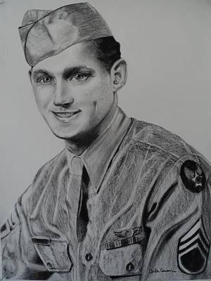 Drawing - Military Heroes by Carla Carson