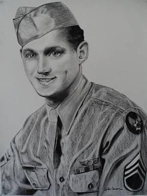 Military Heroes Art Print by Carla Carson