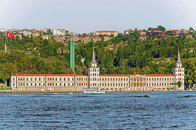 Photograph - Military High School In Istanbul, Turkey. by Marek Poplawski