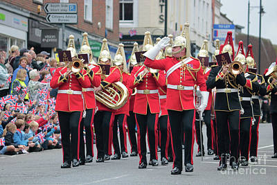 Photograph - Military Parade Dorking Surrey Uk by Julia Gavin