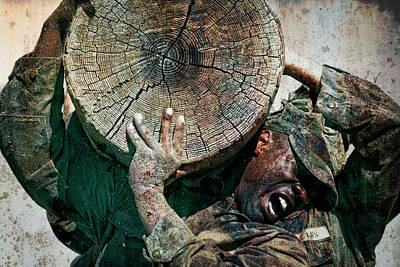 Recon Photograph - Military Training, Sweat And Pain by Daniel Hagerman