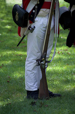 Military Uniform Revolutionary War Sideview 15 Art Print by Thomas Woolworth
