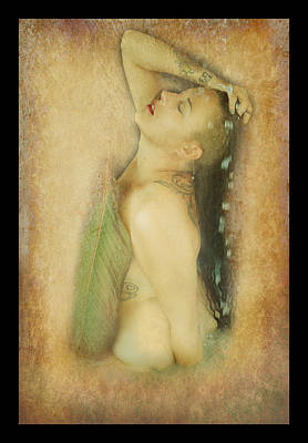 Photograph - Milk Bath Nude  by Pamela Patch