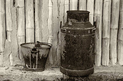 Photograph - Milk Can by Amarildo Correa