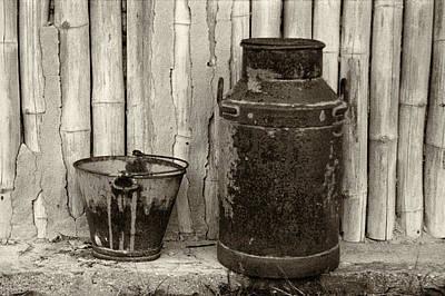 Photograph - Milk Can by Amarildo Correa