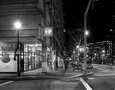 Photograph - Milk Street And Atlantic Avenue by Jeff Stallard