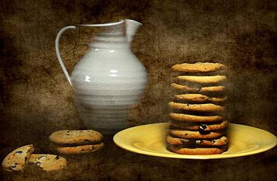 Photograph - Milk With Cookies by Diana Angstadt