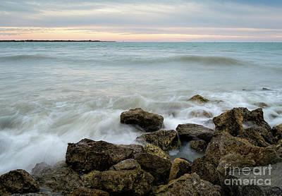 Photograph - Milky Sunset, Pass-a-grille, St. Pete Beach, Fl  -61582 by John Bald