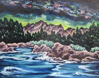Painting - Milky Way 2 by Cheryl Pettigrew