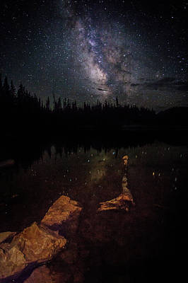 Photograph - Milky Way 2 by Steven Reed
