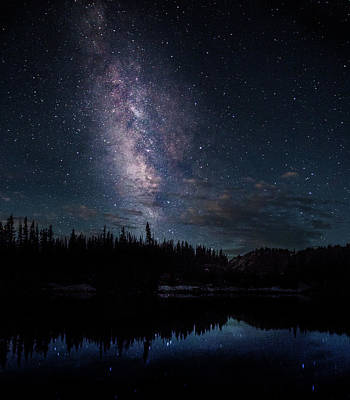 Photograph - Milky Way 4 by Steven Reed