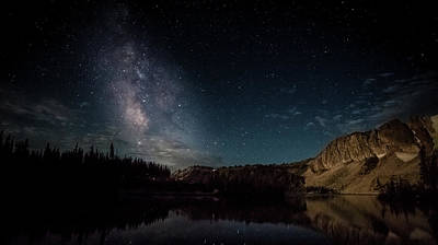 Photograph - Milky Way 5 by Steven Reed