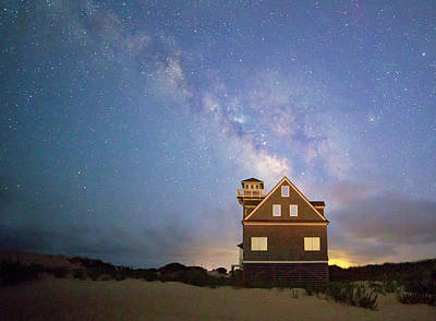 Photograph - Milky Way Above by Art Cole