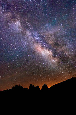 Photograph - Milky Way Above Lone Pine. by Johnny Adolphson