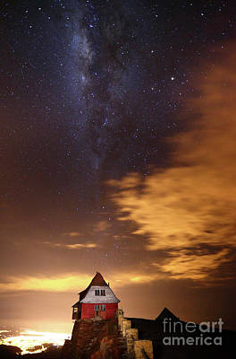 Astro Photograph - Milky Way Above Old Ski Hut At Mt Chacaltaya 4 by James Brunker