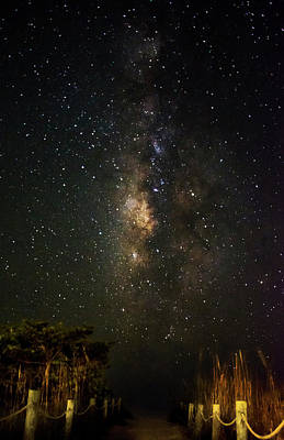 Stars Photograph - Milky Way Access by Chrystal Mimbs