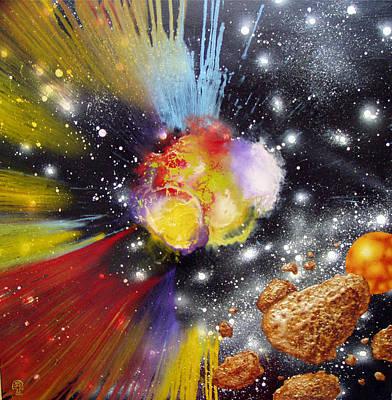 Milky Way Anatomy Iv. Original by Tautvydas Davainis