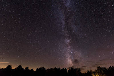 Photograph - Milky Way And Stars by Terry DeLuco