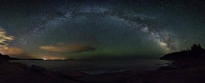Milky Way Arch Art Print