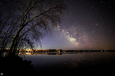Photograph - Milky Way At China Lake by John Meader