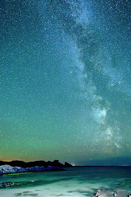 Photograph - Milky Way At Clachtoll by Chris Puddephatt