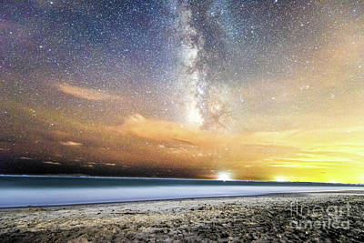 Photograph - Milky Way Blast by Robert Loe