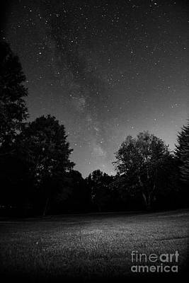 Print featuring the photograph Milky Way by Brian Jones