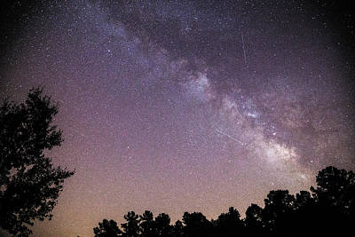 Photograph - Milky Way by Charles Hite