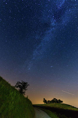 Photograph - Milky Way by Davor Zerjav
