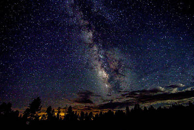 Photograph - Milky Way by Dorothy Cunningham