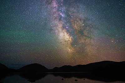 Photograph - Milky Way Eagle Lake by Natalie Rotman Cote