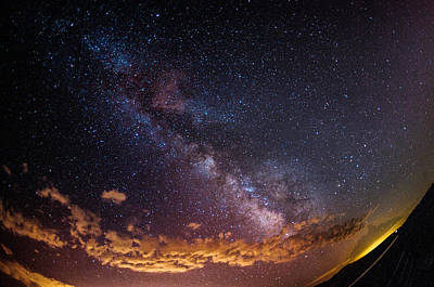 Photograph - Milky Way by Elena E Giorgi