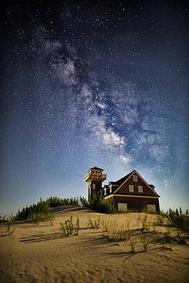 Outerbanks Photograph - Milky Way Evening by Jay Wickens