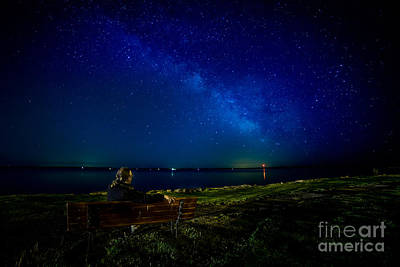 Photograph - Milky Way From Finkles Park by Roger Monahan