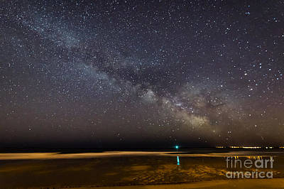 Photograph - Milky Way From Ocean Park Maine by Patrick Fennell