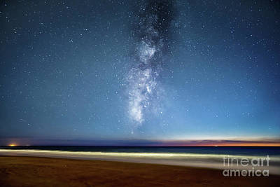 Photograph - Milky Way From Torregorda Cadiz Spain by Pablo Avanzini