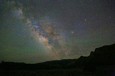 Photograph - Milky Way From Utah by Donna Kennedy