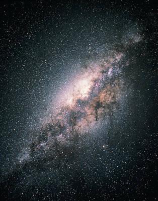 Photograph - Milky Way Galaxy by Akira Fujii