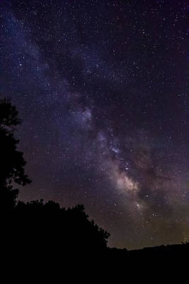 Photograph - Milky Way Galaxy by Dale Kincaid