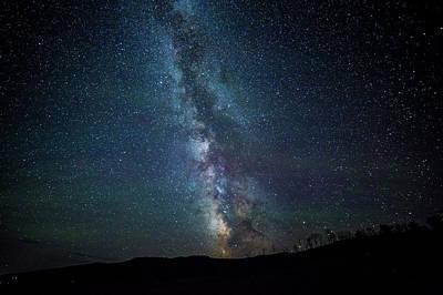 Milky Way Galaxy Art Print by Dan Pearce