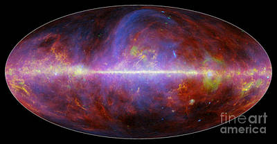 Milky Way Galaxy Print by Science Source