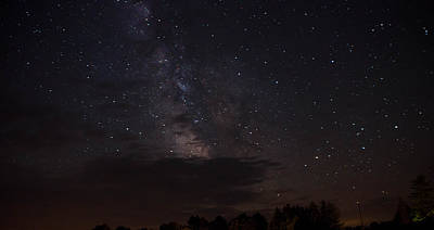 Photograph - Milky Way by Gary Wightman