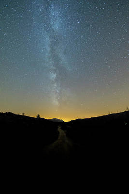Photograph - Milky Way Geres 1 by Bruno Rosa