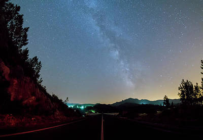 Photograph - Milky Way Geres 2 by Bruno Rosa