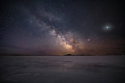 Gichigami Photograph - Milky Way In March, Sturgeon Bay by Jakub Sisak