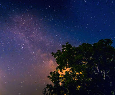 Photograph - Milky Way In Ohio by Dan Sproul